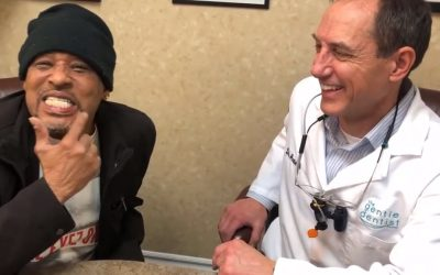 Auto Accident Victim Restored Missing Teeth with Dental Implants